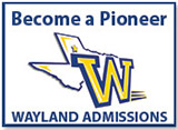 Become a Pioneer - Wayland Admissions